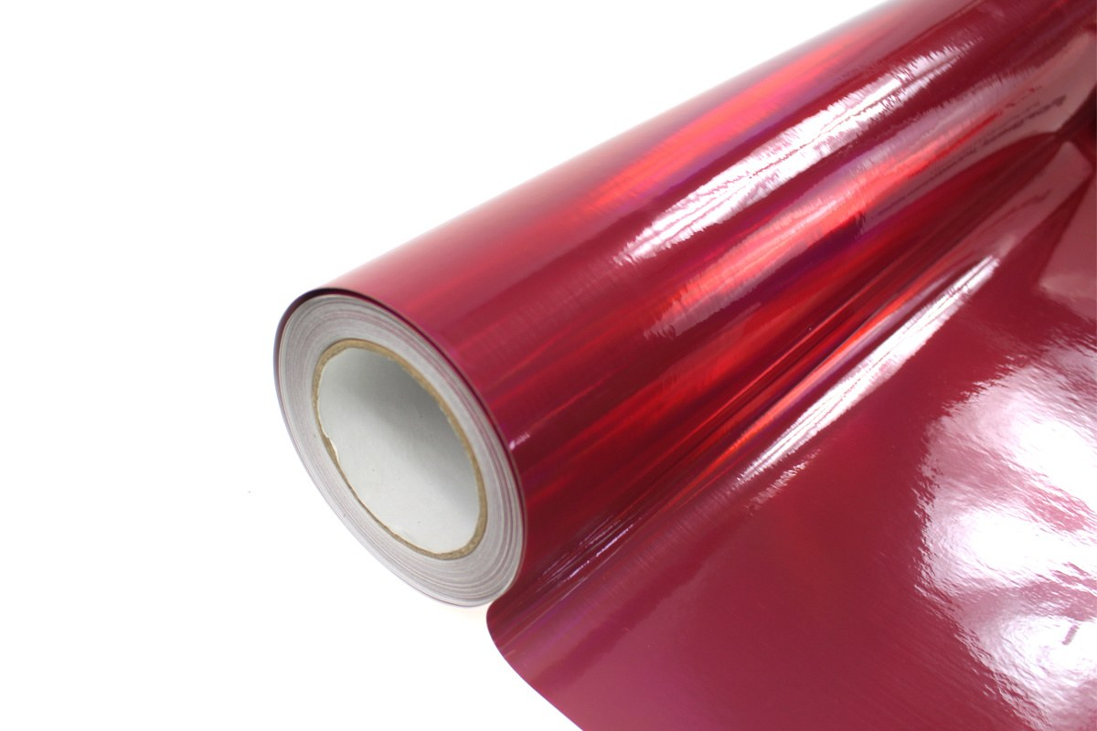 Folia Wrap Red Holo 1,52X30m - GRUBYGARAGE - Sklep Tuningowy